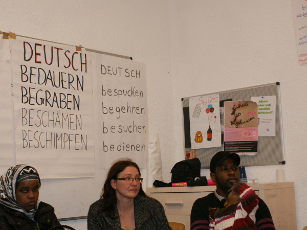 <p>Workshop zur Aktionsvorbereitung</p>